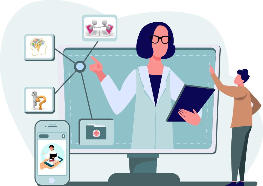 consulta de medicina y psicoterapia online